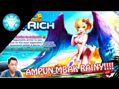 Let's Get Rich Indonesia - DIHAJAR MBAK RAINY SEMUAAAA!!!!!