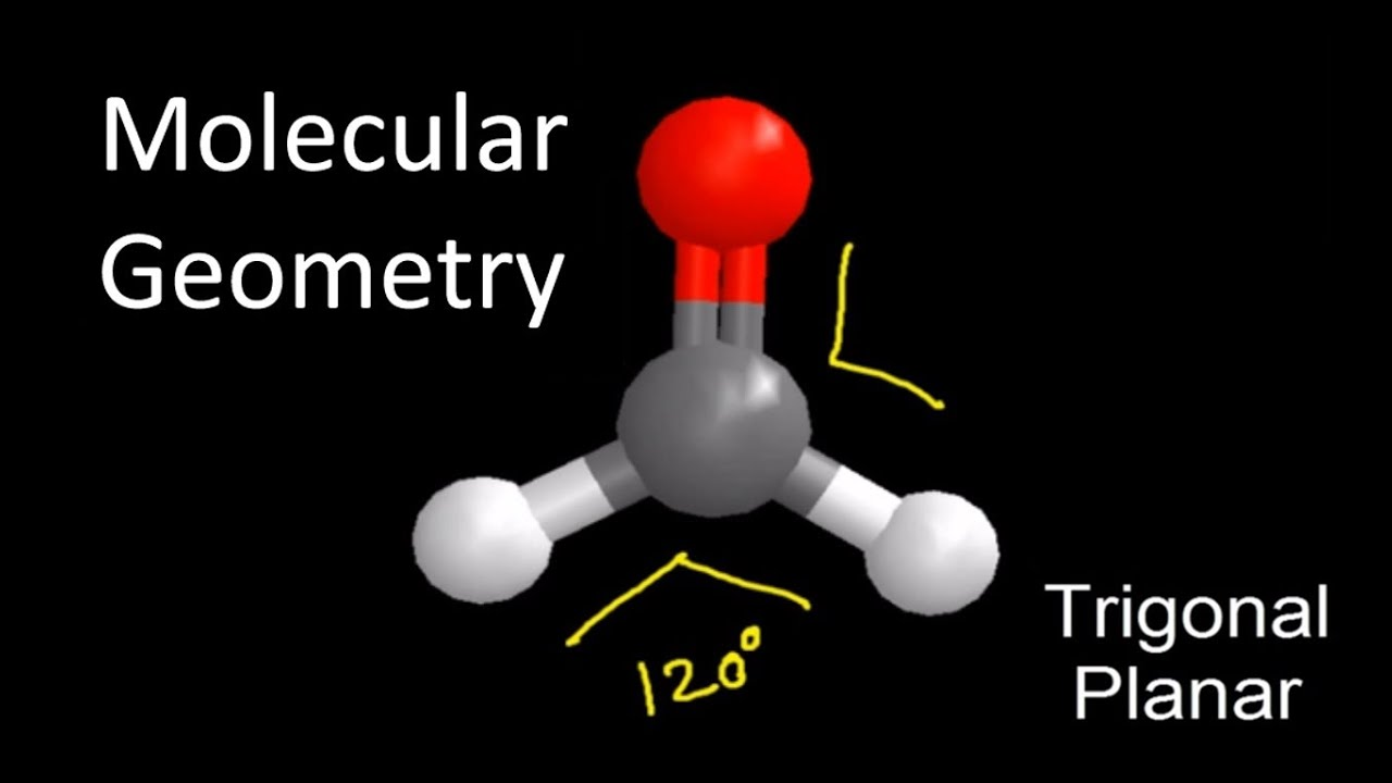 CH2O Molecular Geometry / Shape and Bond Angles - YouTube