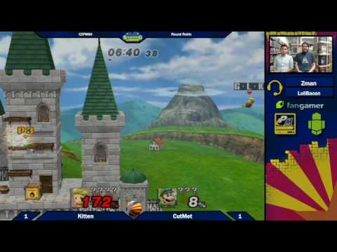 SDR46: Kitten vs CutMet (Stamina and Items On) Round Robin