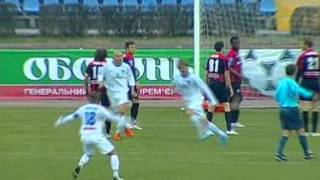 Севастополь - Карпаты 3-1. голы 2010/11