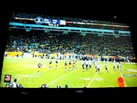 Steelers vs Ravens - Santonio Holmes Touchdown Catch - Go To SuperBowl XLIII