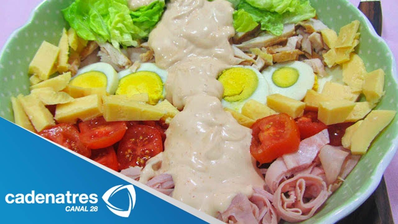 Receta para preparar ensalada del chef ensalada del chef for Comidas con d