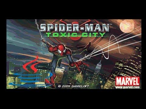 Spiderman: Toxic City - Mobile Java Gameplay