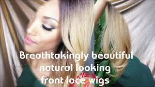 How to apply a front lace heat risistant wig by Diane Shawe