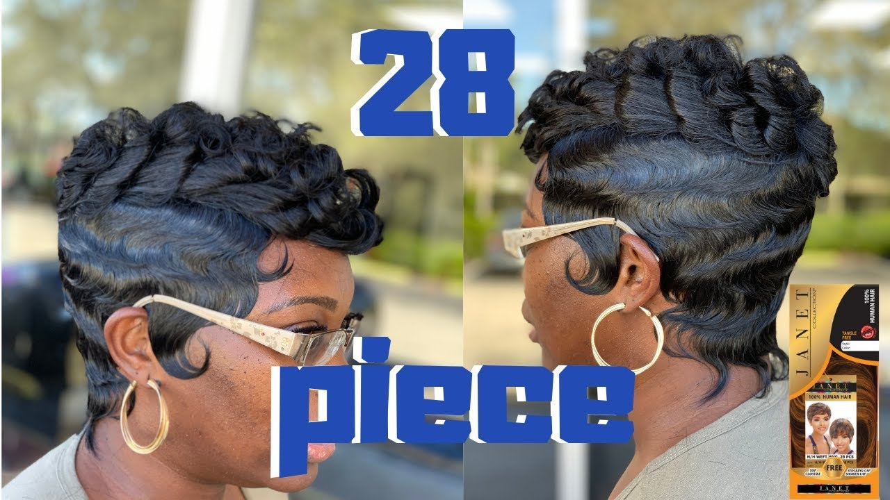 short quick weave | janet collection 28 pieces