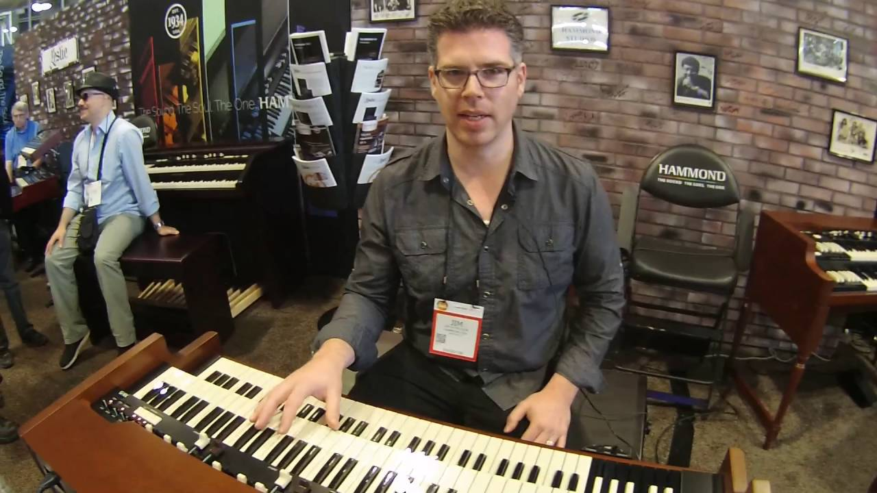 summer namm 2016 hammond xk 5 organ demo with jim alfredson youtube. Black Bedroom Furniture Sets. Home Design Ideas