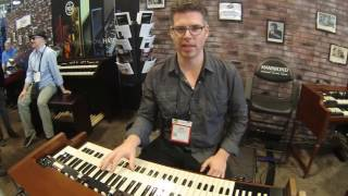 Summer NAMM 2016 - Hammond XK 5 Organ Demo with Jim Alfredson