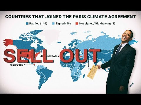 Lawsuit Exposes Obama Paris Treaty Fraud