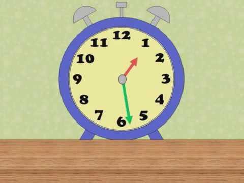 Как выучить время на английском