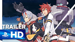 Summon Night 5 - English Gameplay Trailer - PSP [US]