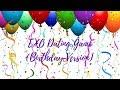 EXO Dating Game (Birthday Ver.) | HAPPY BIRTHDAY LAY
