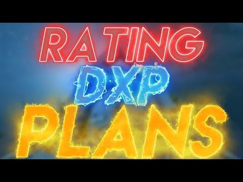 Rating dxp plans