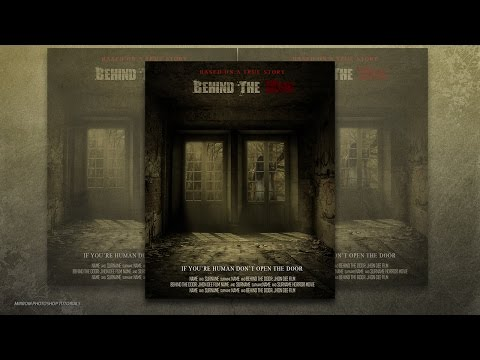 Photoshop CC Tutorial  Create a Behind The Door Horror Movie Poster