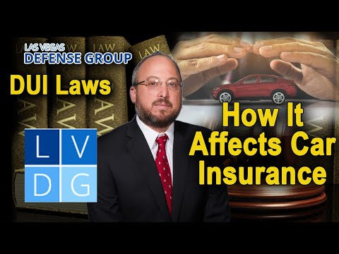 """Can I still get """"car insurance"""" after a Nevada DUI? SR-22 laws"""