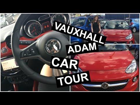 Car Tour | whats in my car ( Vauxhall Adam)