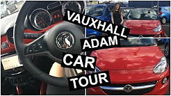Car Tour | whats in my car ( Vauxhall Adam)