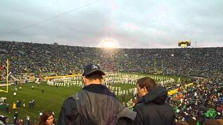 "ND Marching Band ""50 Ways to Say Goodbye"""