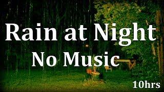 'Rain Sounds' with No Music 10hrs 'Sleep Sounds' ASMR