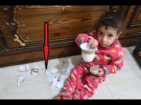 #مريم ضمرت النيش وكسرت الكوبيات شوفو اللي حصل