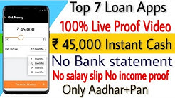 Without income proof personal loan | Without salary slip loan | without bank statement loan | Top 7