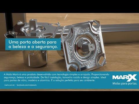 Guia de Instalação da Mola Marix em Portas Pivotantes de Vidro