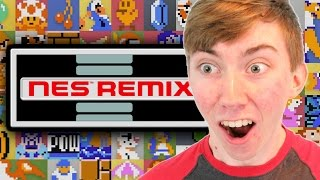 NES REMIX - Part 1 (Wii U Gameplay Video)