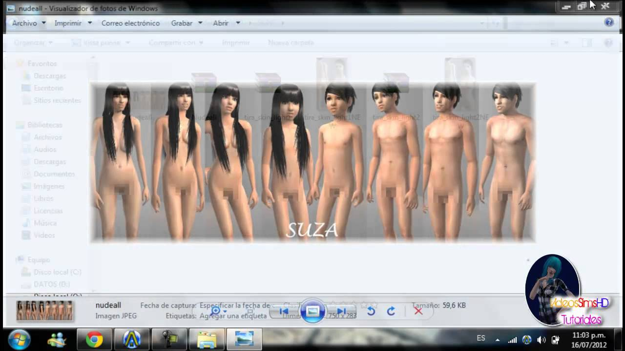 Los sims house party sexy skins