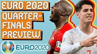 Can Italy Beat Belgium Euro 2020 QUARTER FINALS Preview
