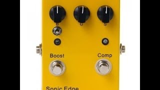 Sonic Edge Tumbleweed Guitar Pedal Demo by Music Gear Fast