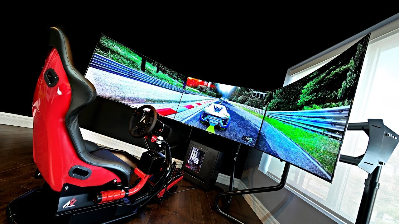 THE $35,000 RACING SIMULATOR