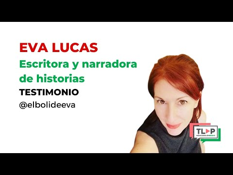 """Programa de mentoría """"Traspasa la Pantalla"""". Eva Lucas, escritora y contadora de historias."""