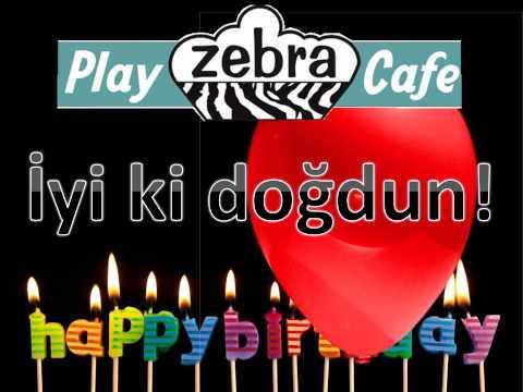 Happy birthday music Turkish   Doğum günü müziği   İyi ki doğdun   Mutlu yıllar