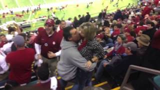 Alabama fan comes in like a wrecking ball at the Sugar Bowl