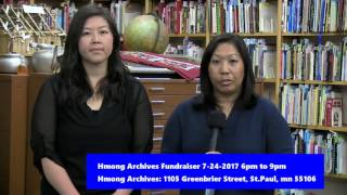 Pao Lee Talk Show: Hmong Archives Announcement
