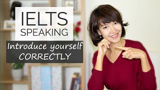 IELTS Speaking | H๐w to introduce yourself