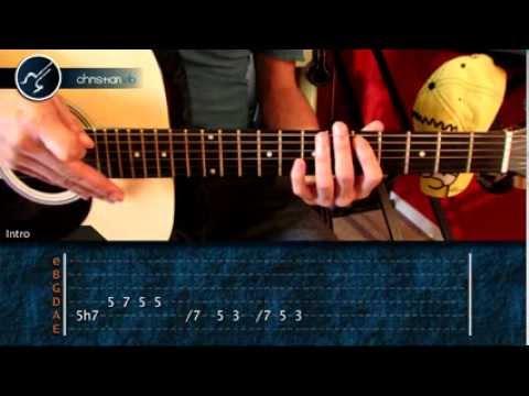 "Cómo tocar ""Mentira"" de La Ley en Guitarra Acústica (HD) Tutorial - Christianvib"