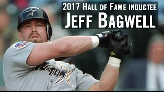 Jeff Bagwell elected to the Hall of Fame