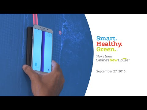 Smart Healthy Green News | Turn Your Smartphone Into A Stud Finder And More