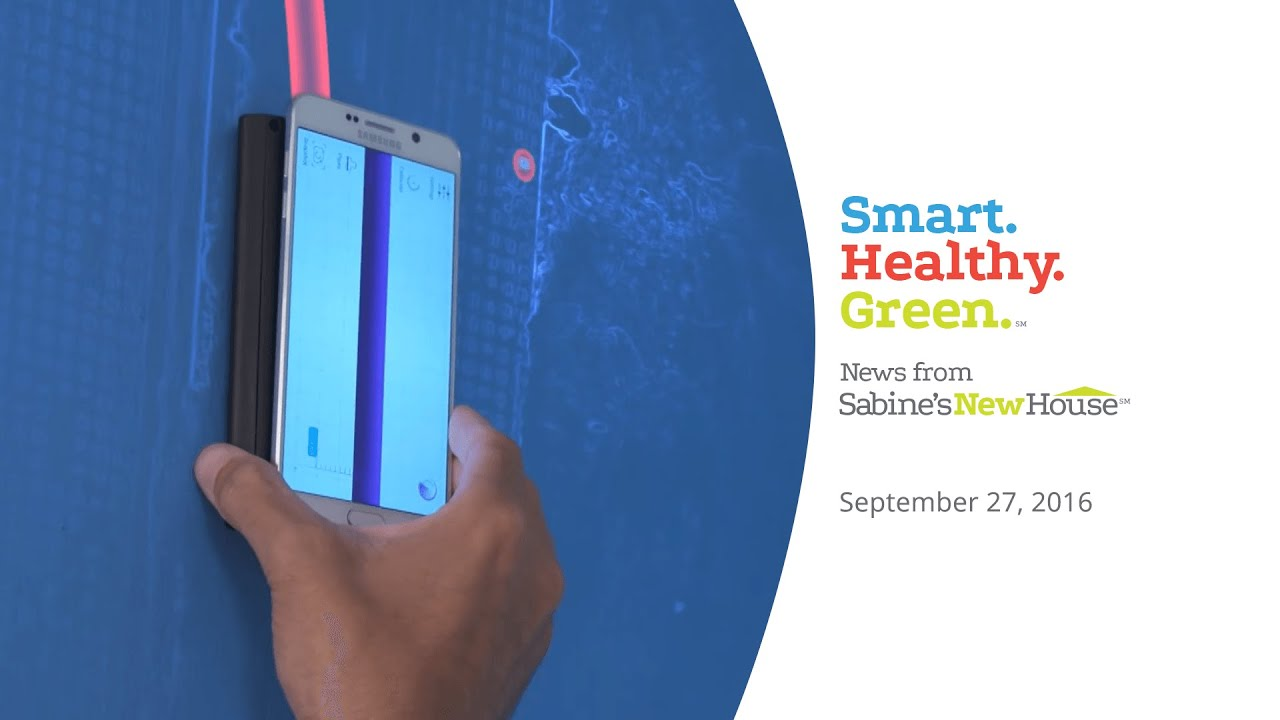 Smart healthy green news turn your smartphone into a for Stud finder app