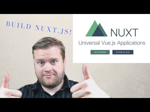 Build a Server Side Nuxt js App With Vuetify, Axios and Vuex part 1