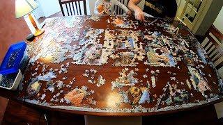Sistine Chapel 5000 Piece Jigsaw Puzzzle Time Lapse screenshot 5