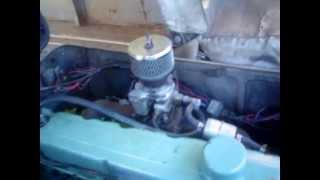 1964 Chevy inline six engine