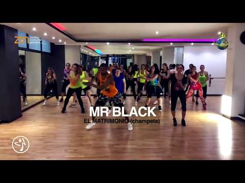 El Matrimonio - Mr Black [ZUMBA] Coreografia Ufficiale