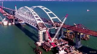 Крымский мост в солнечных лучах