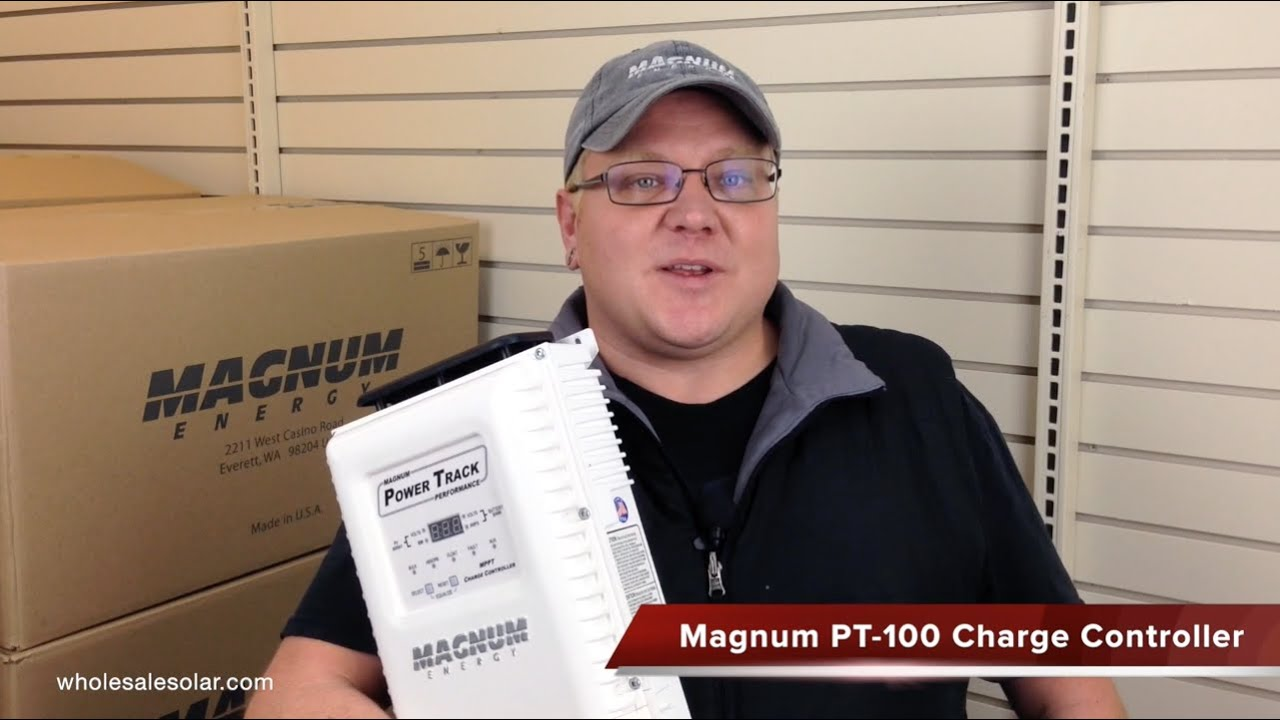 Introducing Magnum Pt 100 Charge Controller Youtube Power Inverter Installation Dimensions