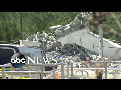 See Traffic Camera Video Show the Devastating Moment of Miami Bridge Collapse