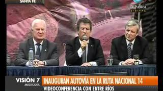 Argentina #  Autoestrada modernizada # Ruta Nacional 14 # Unasul Infraestrutura V7 (Esp.)