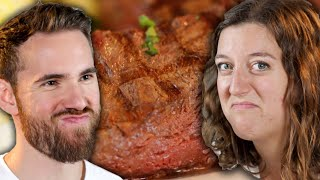 Steak Lovers Eat Steak While Learning Facts About Cows