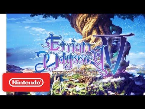 Etrian Odyssey V: Beyond the Myth (Nintendo 3DS)   'Brave the Yggdrasil Tree' Announcement Trailer
