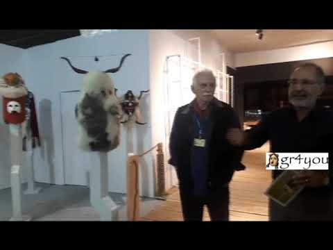 Ο ΜΑΝΟΣ ΣΤΕΦΑΝΙΔΗΣ ΞΕΝΑΓΟΣ ΣΤΗΝ ART THESSALONIKI 2019-  GR4YOU